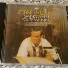 CD Robbie Williams – Swing When You're Winning