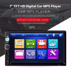 """Mp5 player auto 7010b, 2 DIN, Touch screen 7"""""""