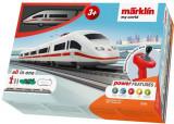 Tren de calatori cu telecomanda si accesorii ICE 3 Starter Set, Marklin