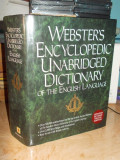 DICTIONAR ENCICLOPEDIC ENGLEZ _WEBSTER'S ENCYCLOPEDIC DICTIONARY , NEW YORK,1996