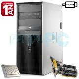 Calculator Intel Core2Quad Q9505 4GB DDR2 SSD 128GB + HDD 250GB GF210 1GB HDMI, Intel Core 2 Quad, 4 GB, 200-499 GB, HP