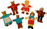 2 in 1 - Pinochio si Povestea Cei trei ursuleti - Papusi degetar, Bigjigs