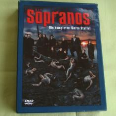 CLANUL SOPRANO Sezonul V - Lot de 4 DVD-uri Engleza/ Germana