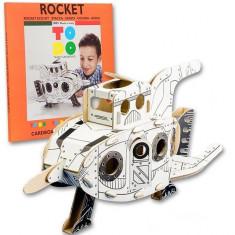 Joc creativ 3D Rocket