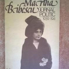 Martha Bibescu – Jurnal politic