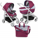 Carucior 2 in 1 Duo Love Up RED PLUM, Chicco