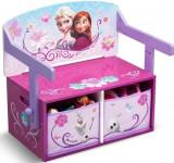 Mobilier 2 in 1 pentru depozitare jucarii Disney Frozen, Delta Children