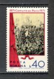Romania.1971 Centenarul Comunei din Paris  YR.513, Nestampilat