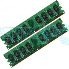 OFERTA! Memorii Kit 4GB (2x2GB) DDR2 800MHz Diverse modele GARANTIE 1 AN!, DDR 2, 4 GB, Dual channel
