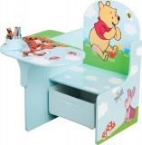 Scaun multifunctional din lemn Disney Winnie the Pooh, Delta Children