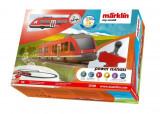 Tren de calatori cu sine si telecomanda Regio Lint Starter Set, Marklin