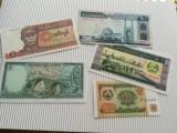 Bancnote din Asia, Myanmar,Liban,Iran, Laos, Tadjikistan- toate UNC