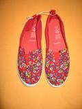 Espadrile noi Effect cu floricele Mar 40,5/ 41, Multicolor