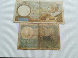 Bancnote Franta  1939 si 1941, ciculate