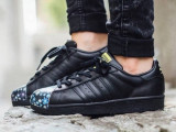 Adidas Superstar Pharrell Supershel COD: S83352. Produs cu factura/Garantie, 41 1/3, 42, Piele naturala