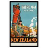 Poster de călătorie Noua Zeelandă