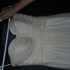 Rochie de mireasa firma Delicate  din matase naturala