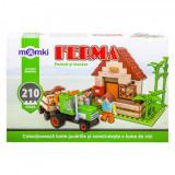 Set constructie MomKi tip Lego Ferma si tractor 210 piese