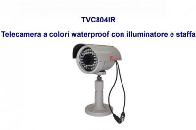 CAMERA DE SUPRAVEGHERE COLOR TECNOVA TVC804IR foto