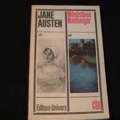 MINASTIREA NORTHANGER-JANE AUSTEN-TRAD. COSTACHE POPA-231 PG-, Alta editura