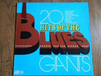 LP Various – 20 Hits of the blues giants foto