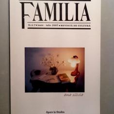 Revista Familia Nr. 6-7 /iunie-iulie  2007