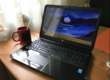 Laptop HP 15  - Intel Quad Core 2,6 GHz , 500GB, DDR3 4GB, WIN 10, impecabil, Intel Pentium, 500 GB