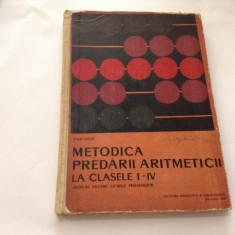 IOAN ARON  METODICA PREDARII ARITMETICII LA CLASELE I-IV,RF1/1