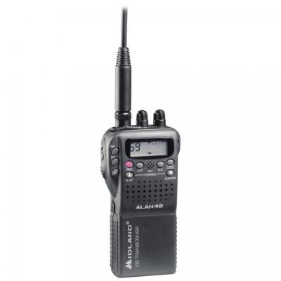 Resigilat : Statie radio CB portabila Midland Alan 42 Multi Cod C480.17 foto