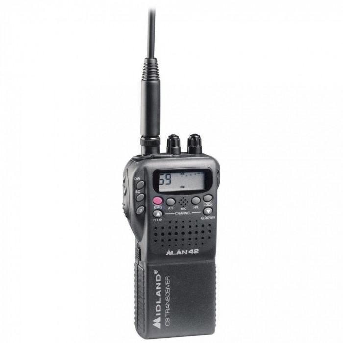 Resigilat : Statie radio CB portabila Midland Alan 42 Multi Cod C480.17
