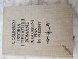 Istoria literaturii romane de la origini pina in prezent – George Calinescu.