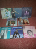 "Lot 8 single vinil vinyl 7"" oldies-Hopkin/Carpenters/ Harris/Celentano/Iglesias"