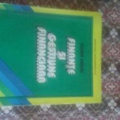 Finante si gestiune financiara 237 pagini Toma Mihai