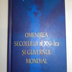 Stefan Masu(dedicatie) Omenirea secolului al XXI-lea si Guvernul Mondial, 2011
