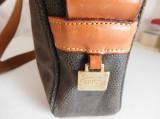 BRIC'S  GEANTA ORIGINALA ,  PIELE  NATURALA, Geanta stil postas, Longchamp