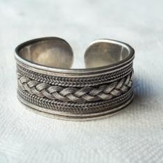 INEL argint ARVI INDIA etnic TRIBAL lat VECHI reglabil SPLENDID vintage SUPERB