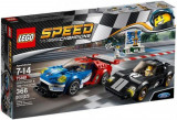 LEGO® Speed Champions 2016 Ford GT şi 1966 Ford GT40 75881