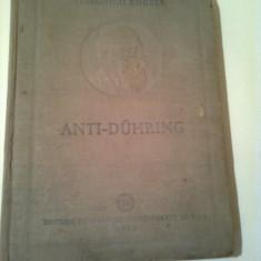 ANTI - DUHRING ( D-ul EUGENE DUHRING revolutioneaza stiinta ) ~ FRIEDRICH ENGELS