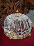 Plafoniera in stil francez cu elemente din bronz