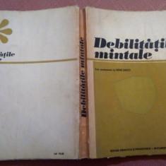 Debilitatile mintale - Rene Zazzo, Didactica si Pedagogica