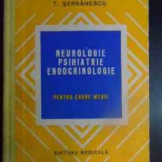 MEDICINA,NEUROLOGIE,PSIHIATRIE,ENDOCRINOLOGIE,CADRE MEDII,TUDOR SERBANESCU,1978