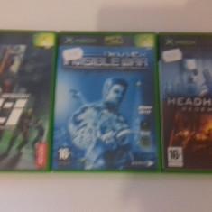 LOT 3 JOCURI  XBOX - Mission Impossible - Deus Ex _ Headhunter [Second hand], Actiune, 12+, Multiplayer