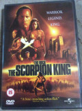 THE SCORPION KING   -  FILM DVD ORIGINAL, Romana, universal pictures
