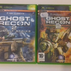 LOT 2 JOCURI  XBOX - Tom Clancy Ghost Recon 2   [Second hand], Shooting, 12+, Multiplayer