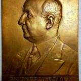 Placheta Ionescu-Braila, presedintele Asociatiei Medicilor Veterinari, 1939
