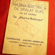 Prospect Masina de spalat rufe - Electro-Bobinajul -1961