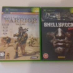 LOT 2 JOCURI  XBOX - Shellshock Nam 67 + Full Spectrum Warrior  [Second hand], Shooting, 12+, Multiplayer