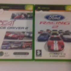 LOT 2 JOCURI  XBOX - Toca Race Driver + Ford Racing 2  [Second hand], Curse auto-moto, 12+, Multiplayer
