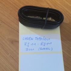 Cablu Telefon RJ11 - RJ11 3m (50054)
