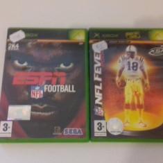 LOT 2 JOCURI  XBOX - NFL  [Second hand], Sporturi, 12+, Multiplayer